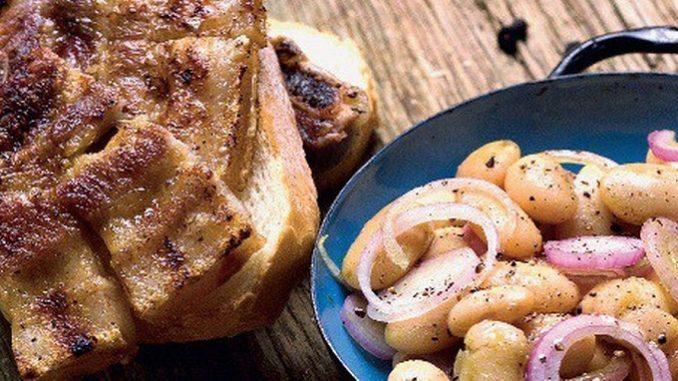 10 - Carsko meso s grah salatom